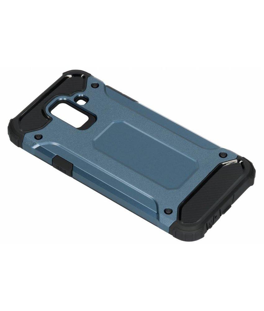 Donkerblauw Rugged Xtreme Case Samsung Galaxy A6 (2018)