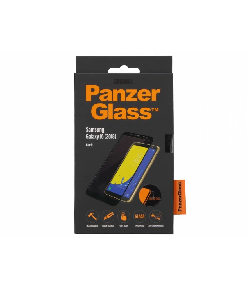 PanzerGlass Zwart Premium Screenprotector Samsung Galaxy J6