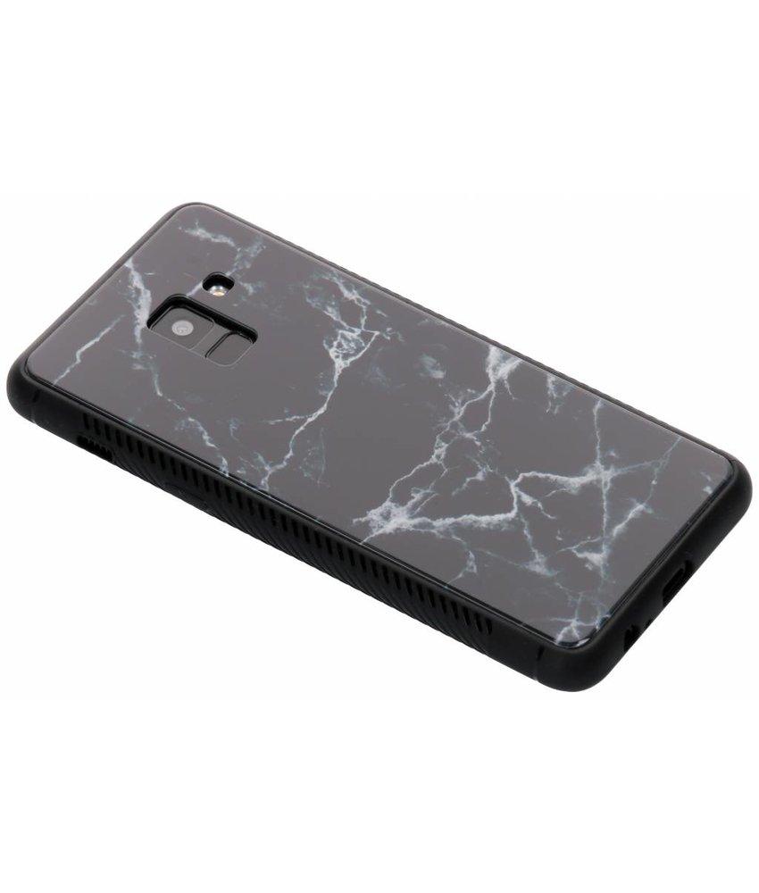 Design glazen hardcase Samsung Galaxy A8 (2018)