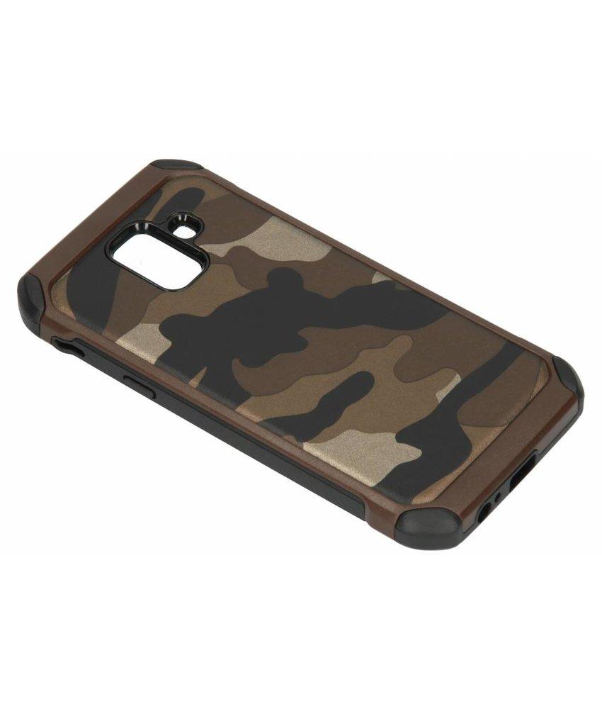 Bruin army defender hardcase hoesje Samsung Galaxy A6 (2018)