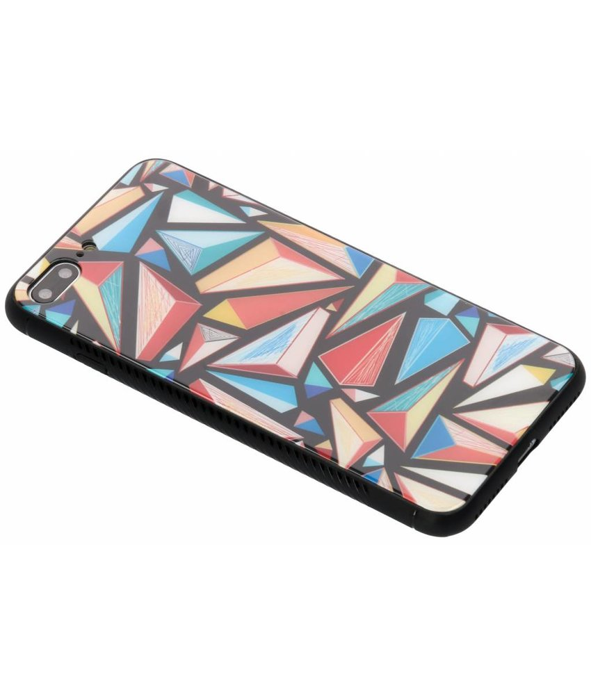 Design glazen hardcase iPhone 8 Plus / 7 Plus