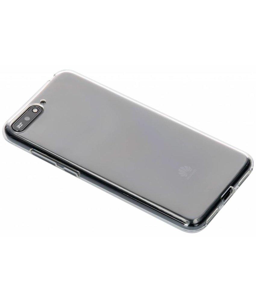 Transparant gel case Huawei Y6 (2018)