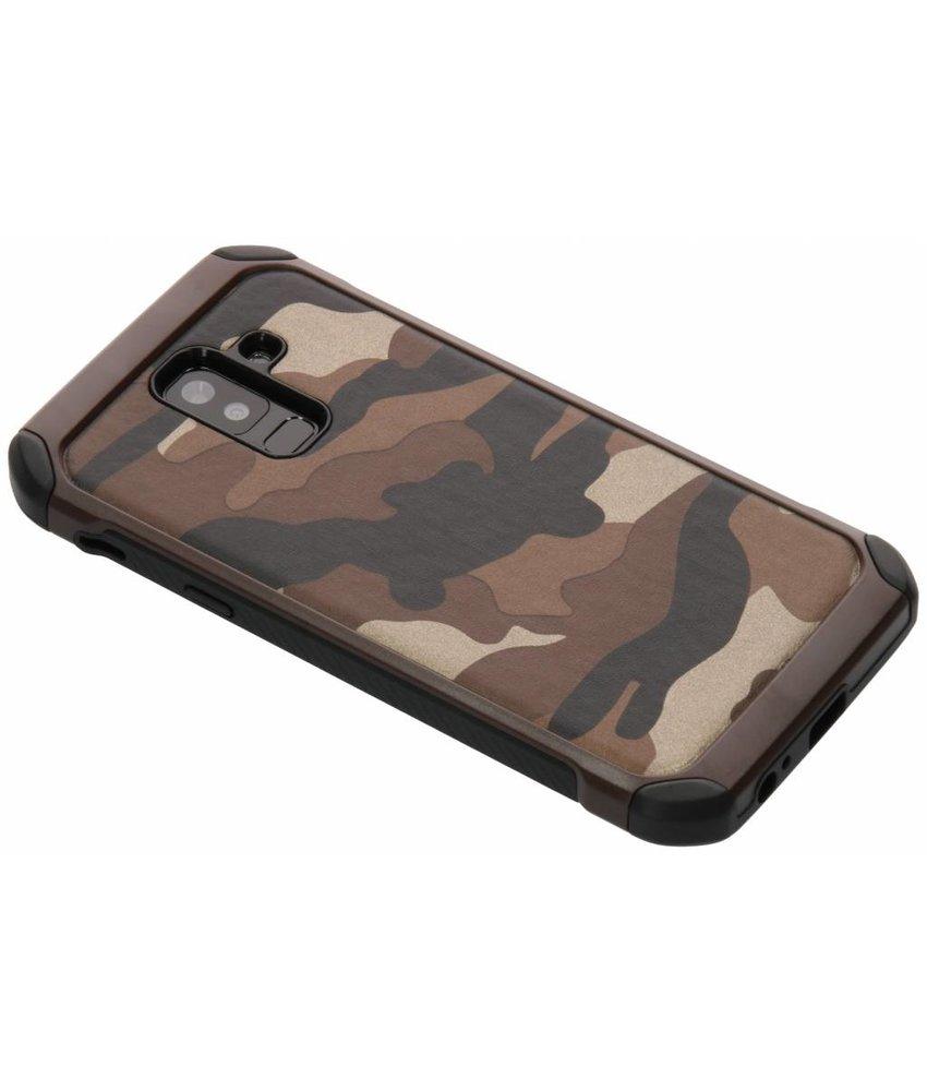 Army defender hardcase hoesje Samsung Galaxy A6 Plus (2018)