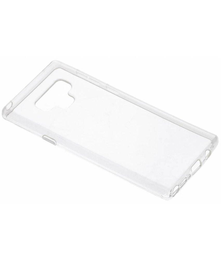 Transparant gel case Samsung Galaxy Note 9