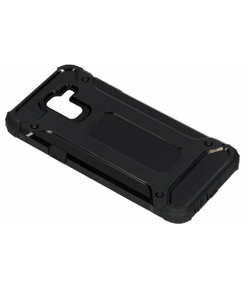 Zwart Rugged Xtreme Case Samsung Galaxy J6