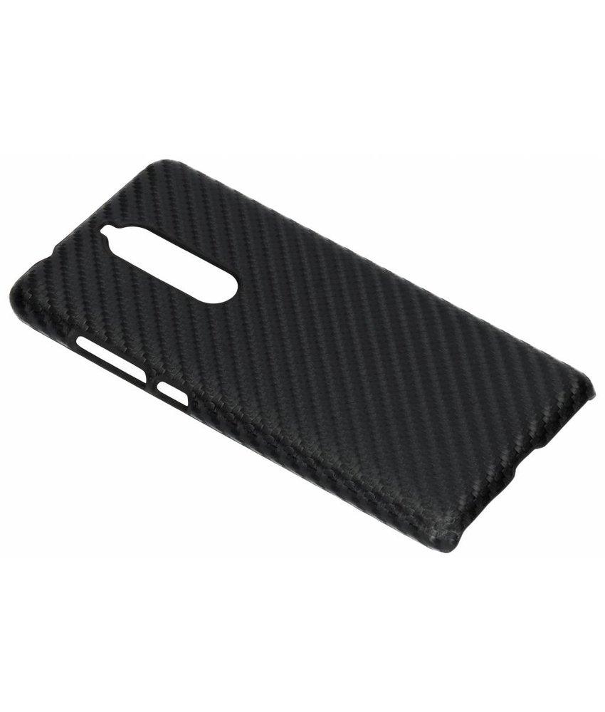 Carbon Hardcase Backcover Nokia 5.1
