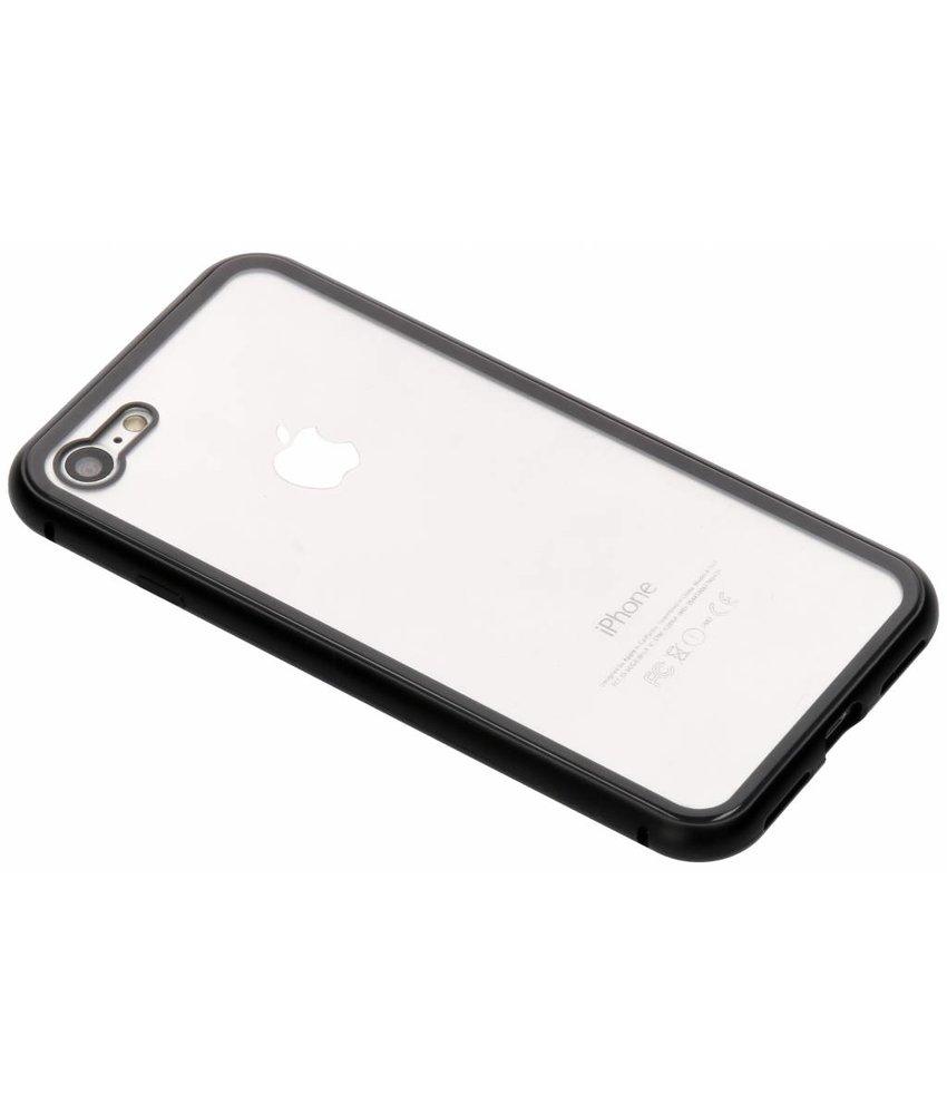 Selencia Zwart magnetisch hoesje iPhone 8 / 7