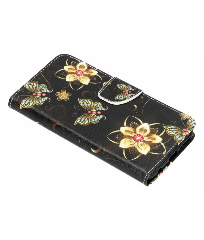 Design TPU booktype hoes Huawei Y7 (2018)