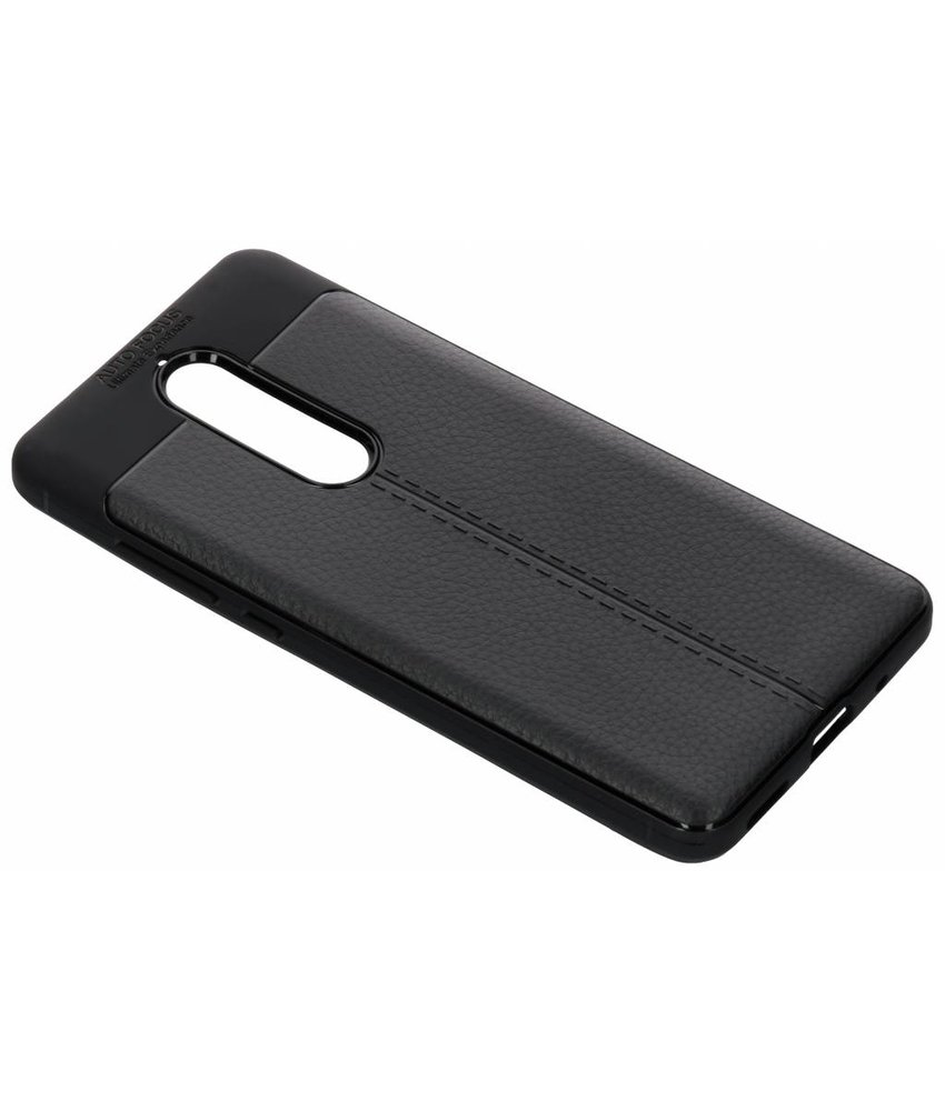 Lederen Backcover met stiksel Nokia 5.1