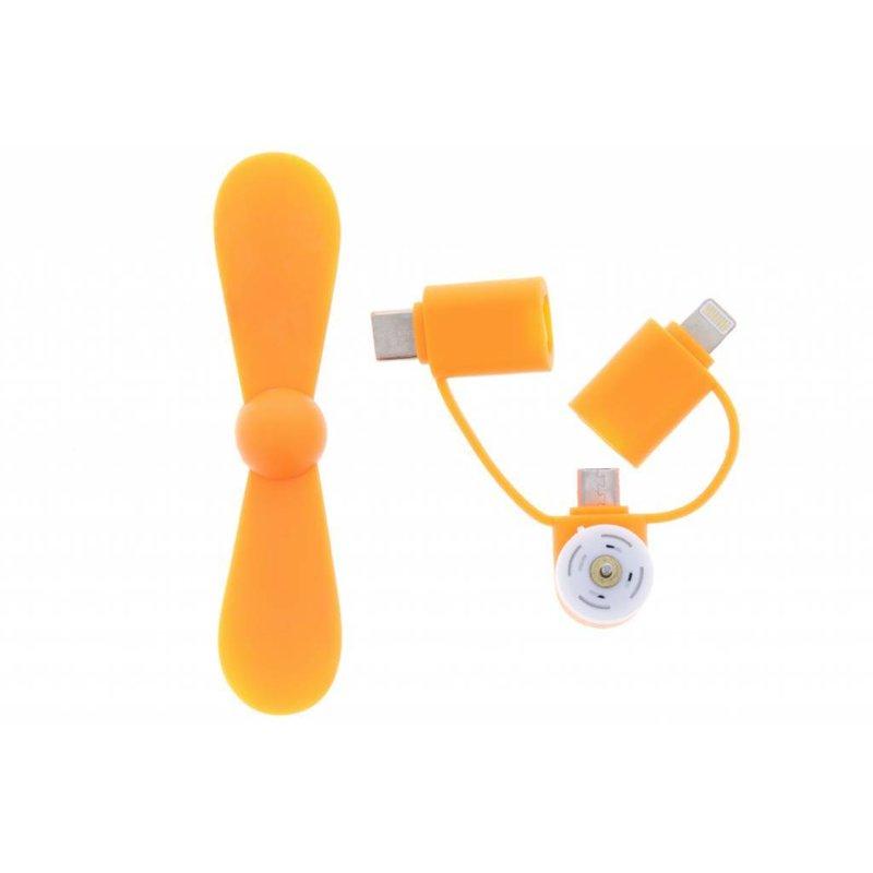 Ventilator voor smartphones USB-C, Micro-USB & Lightning