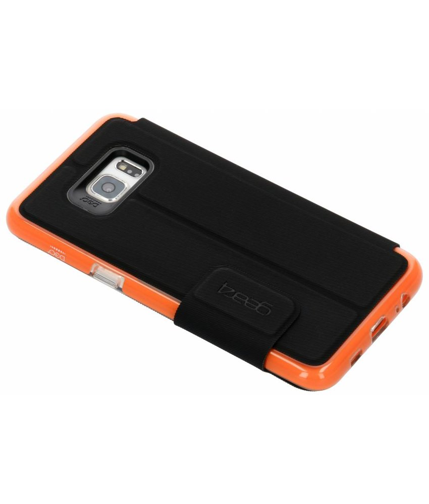 Gear4 Zwart D3O® BookCase Samsung Galaxy S6 Edge Plus