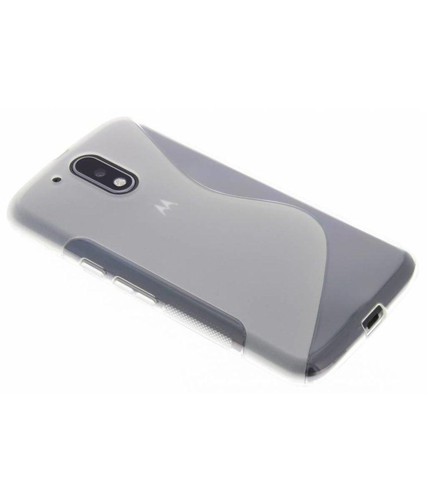 Transparant S-Line TPU hoesje Motorola Moto G4 (Plus)