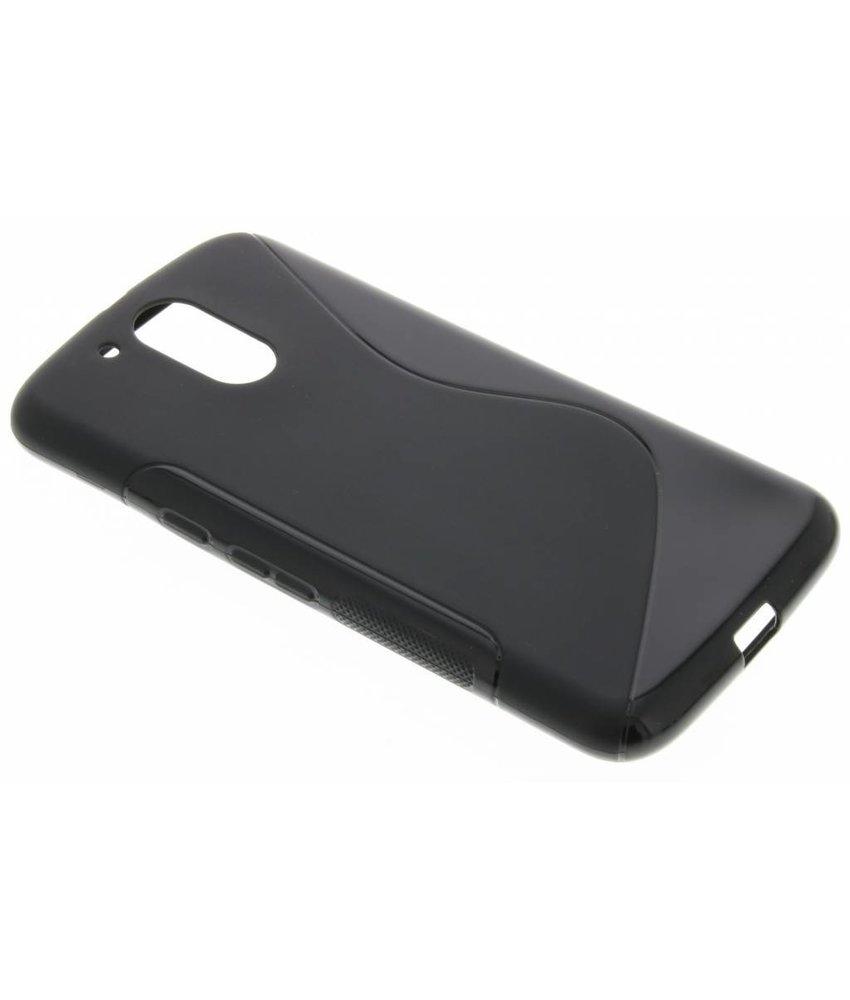 Zwart S-Line TPU hoesje Motorola Moto G4 (Plus)