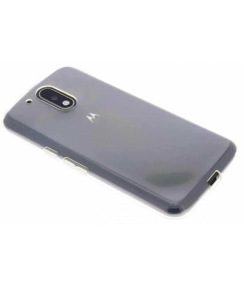 Transparant gel case Motorola Moto G4 (Plus)
