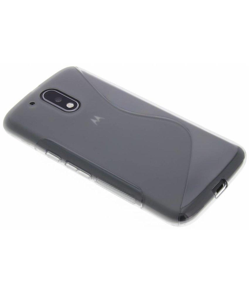 Grijs S-Line TPU hoesje Motorola Moto G4 (Plus)