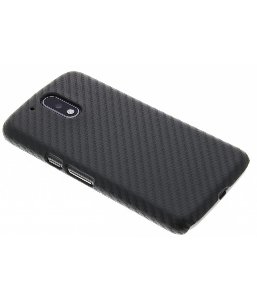 Carbon look hardcase hoesje Moto G4 (Plus)