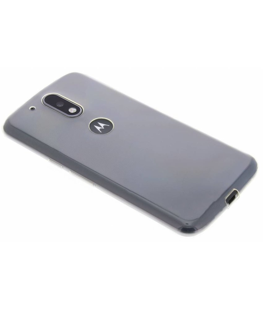 Ultra thin transparant TPU hoesje Motorola Moto G4 (Plus)