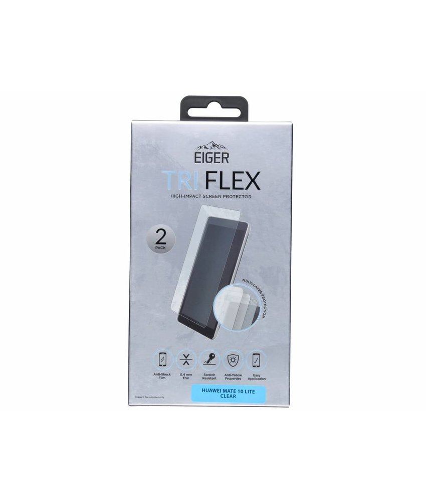Eiger Tri Flex Screenprotector Huawei Mate 10 Lite