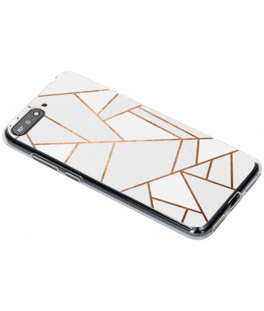 Design TPU hoesje Huawei Y6 (2018)