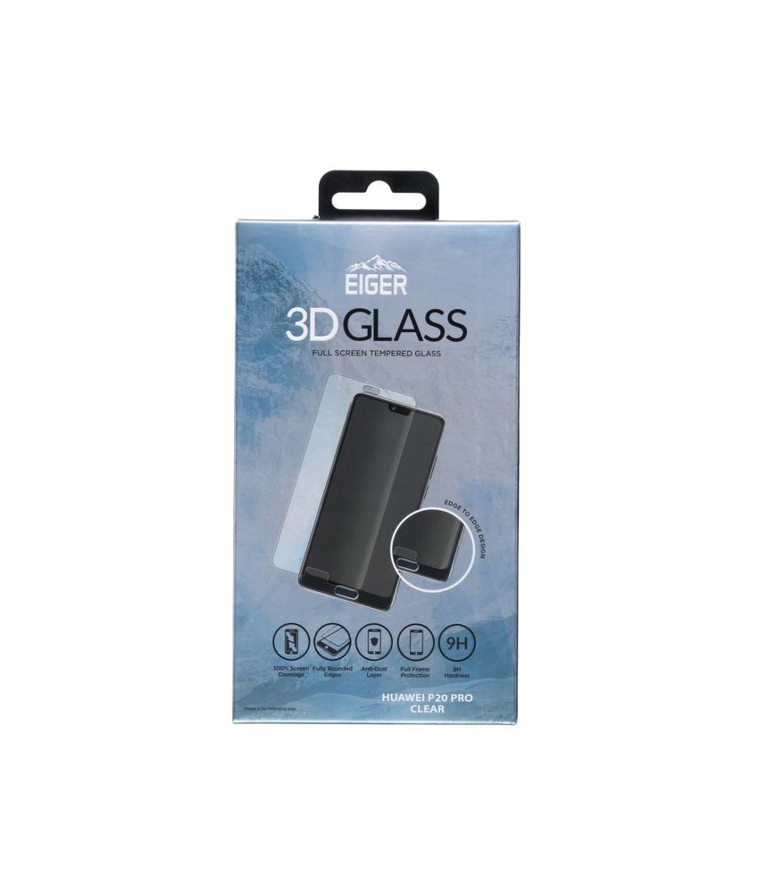 Eiger 3D Tempered Glass Screenprotector Huawei P20 Pro