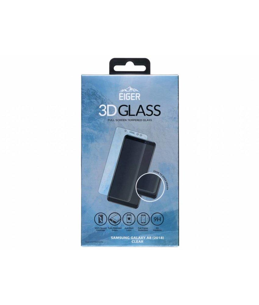 Eiger 3D Tempered Glass Screenprotector Samsung Galaxy A8 (2018)