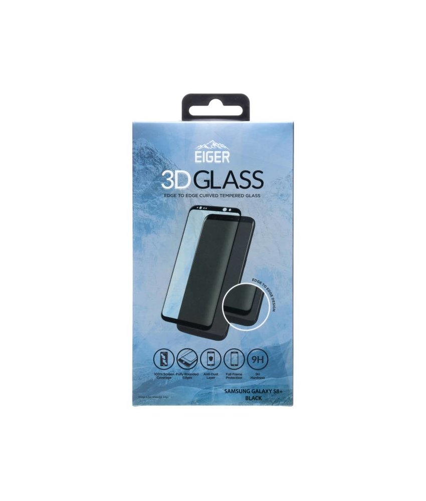 Eiger Tempered Glass Screenprotector Samsung Galaxy S8 Plus