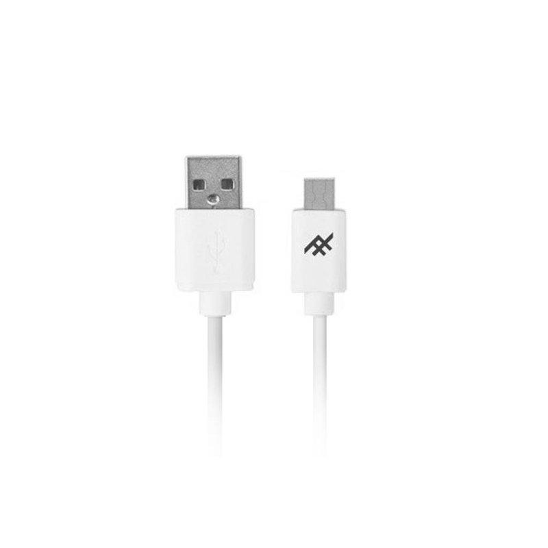 iFrogz Wit Unique Sync™ Micro-USB naar USB kabel - 1,8 meter