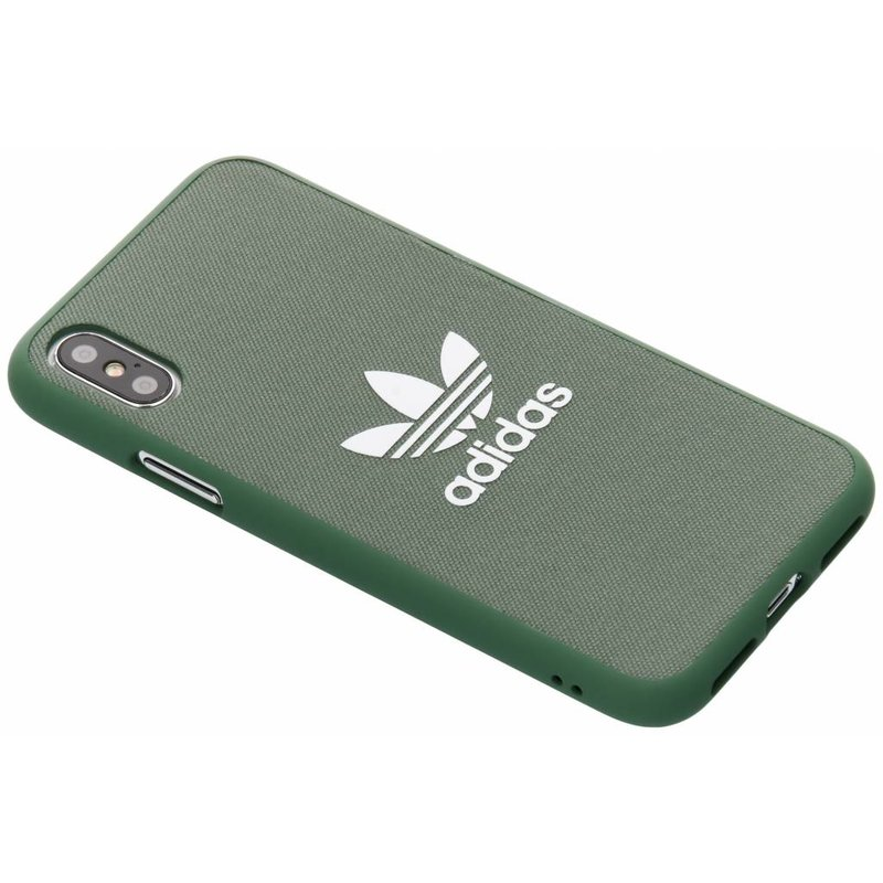 adidas Originals Lichtgroen Adicolor Moulded Case iPhone Xs / X