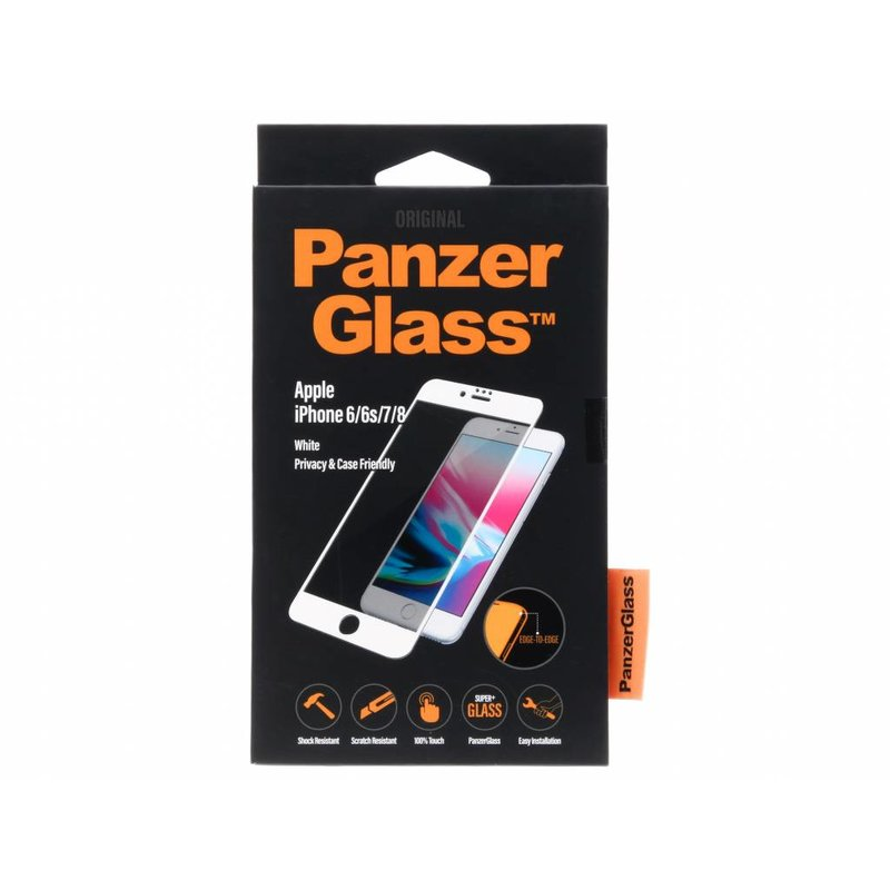 PanzerGlass Case Friendly Privacy Screenprotector iPhone 8 / 7 / 6s / 6