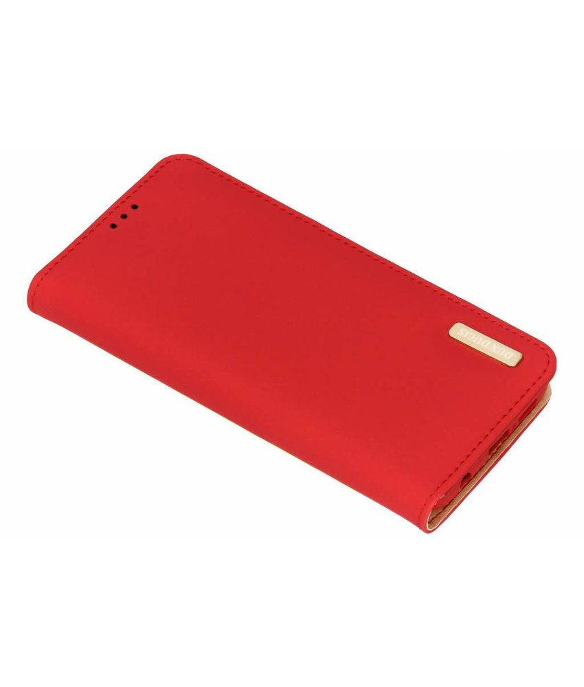 Dux Ducis Rood Genuine Leather Case Huawei P20 Lite