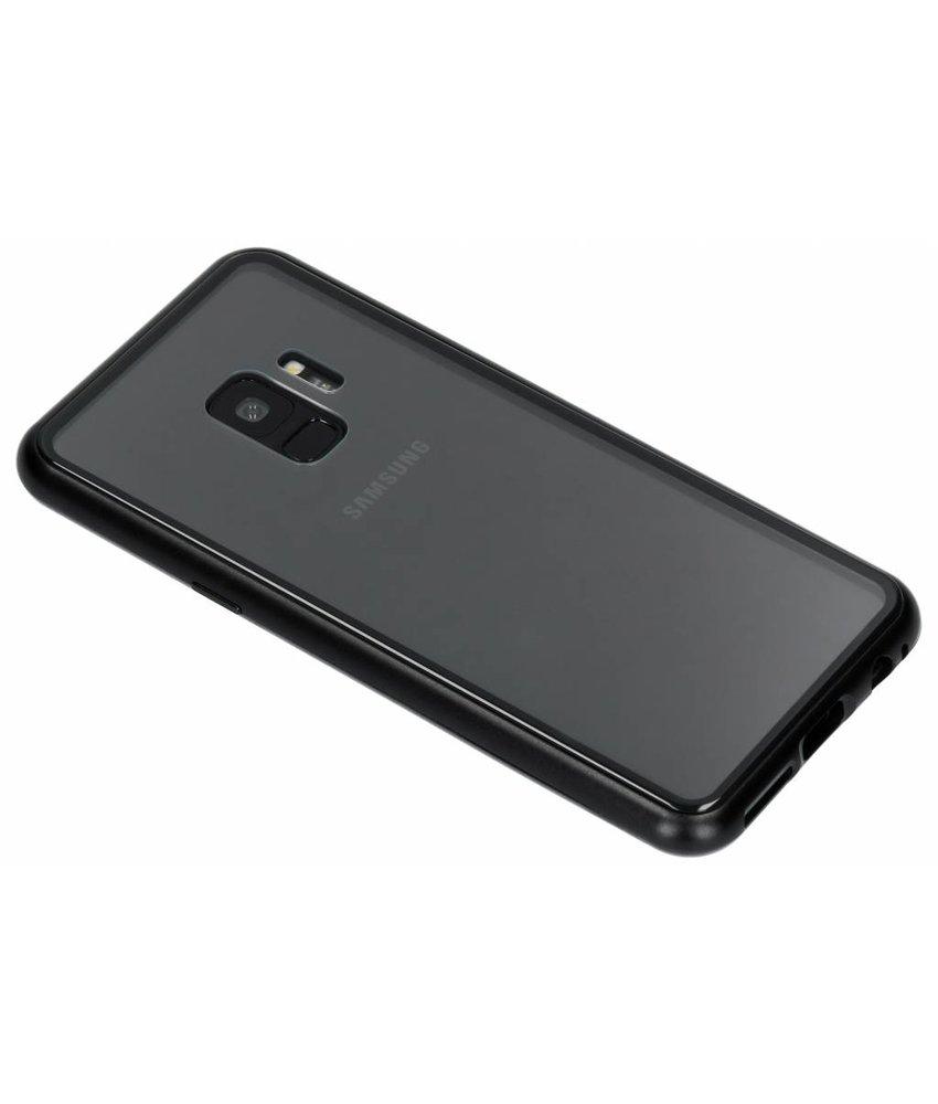Selencia Zwart magnetisch hoesje Samsung Galaxy S9