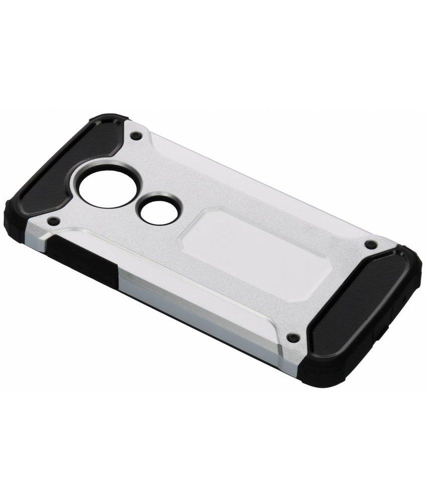 Zilver Rugged Xtreme Case Motorola Moto E5 / G6 Play