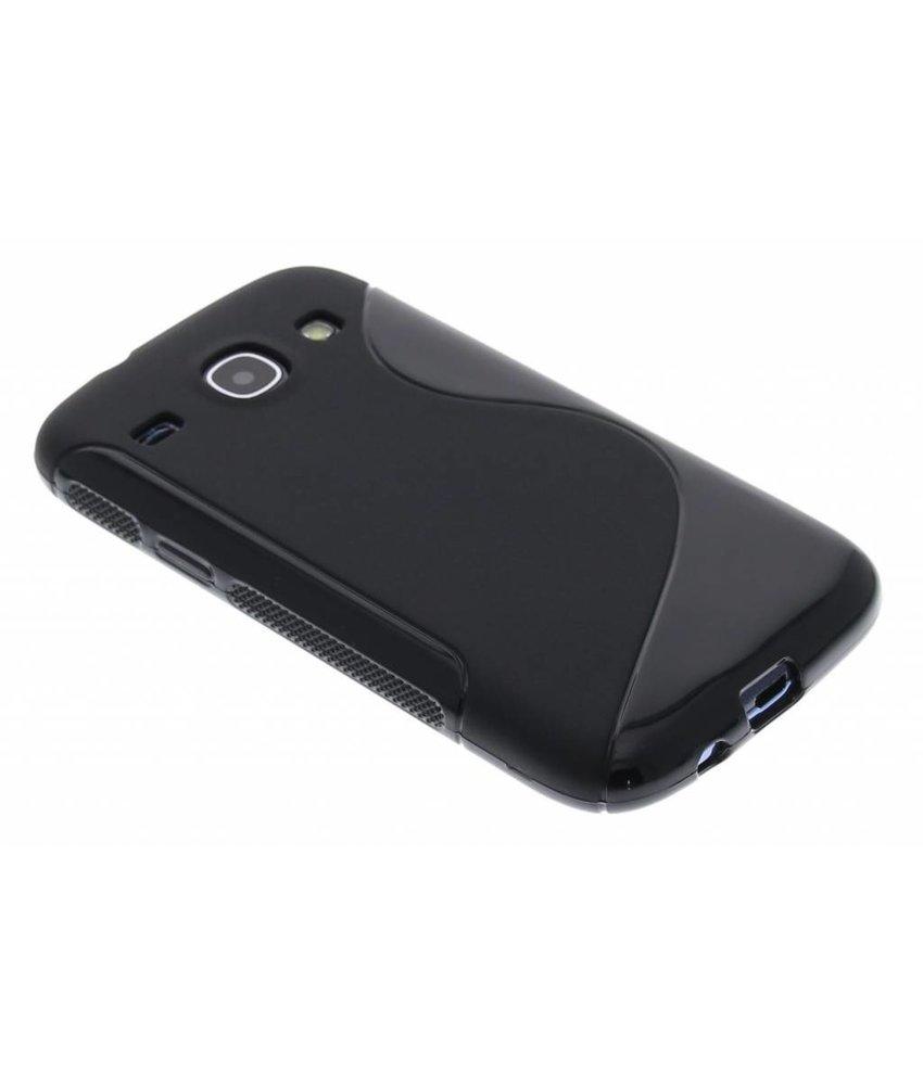 Zwart S-line TPU hoesje Samsung Galaxy Core