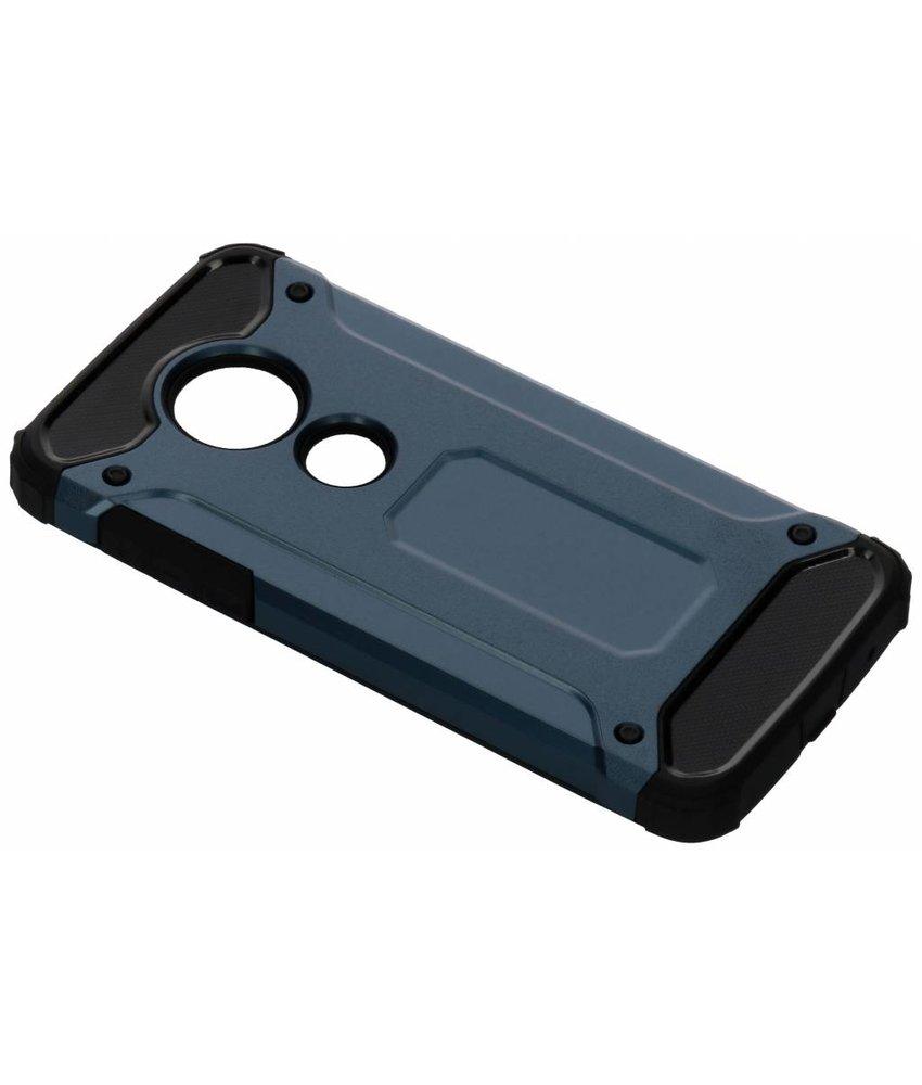 Donkerblauw Rugged Xtreme Case Motorola Moto E5 / G6 Play