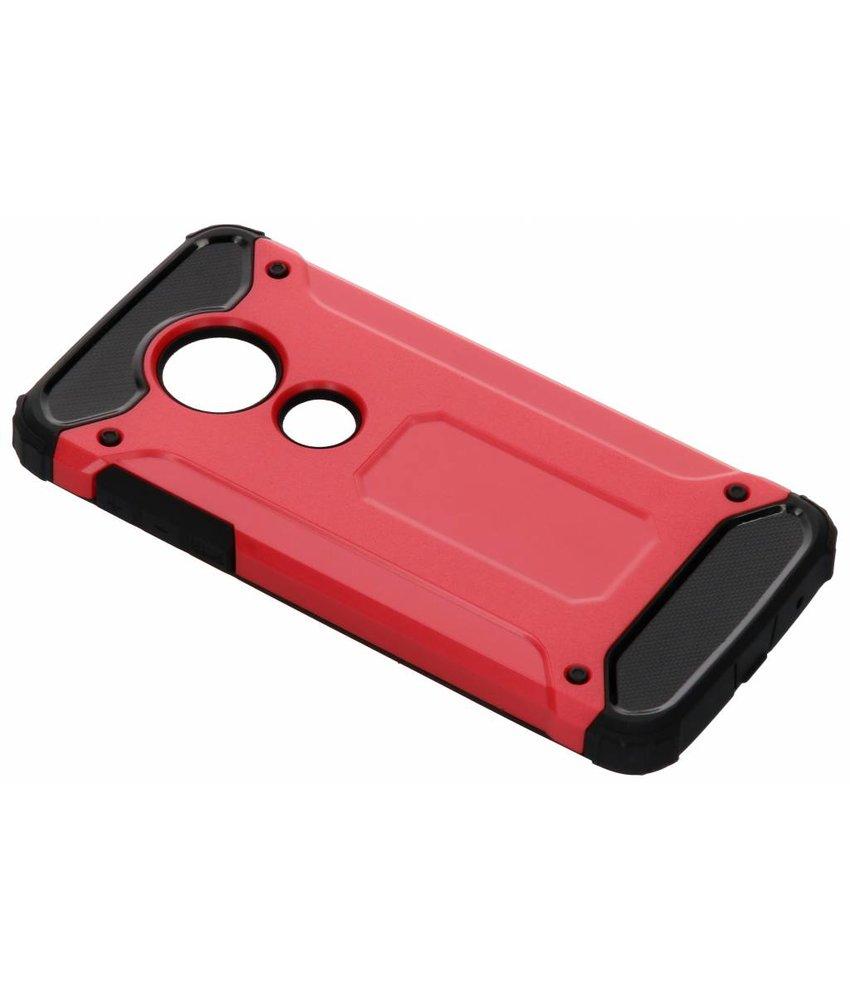 Rood Rugged Xtreme Case Motorola Moto E5 / G6 Play