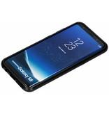 Selencia Magnetisch Backcover voor Samsung Galaxy S8 - Zwart