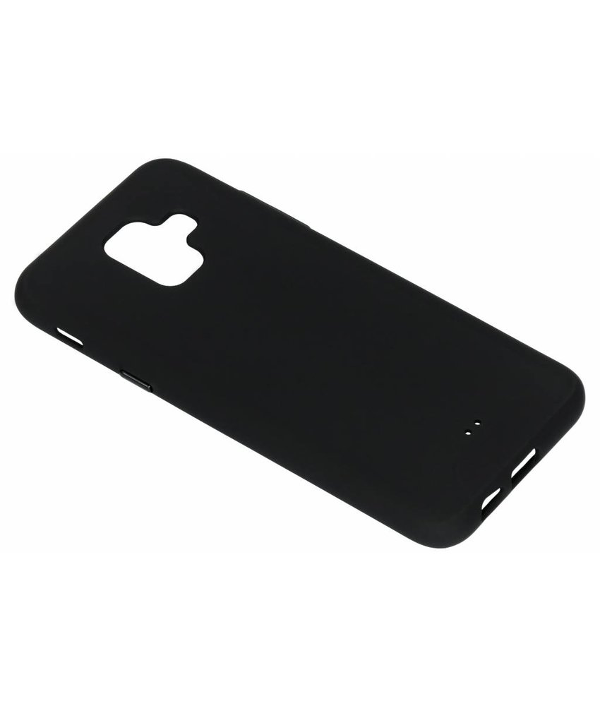 Zwart slim extra protect case Samsung Galaxy A6 (2018)