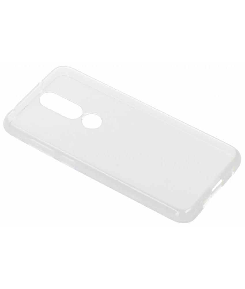 Transparant gel case Nokia 6.1 Plus