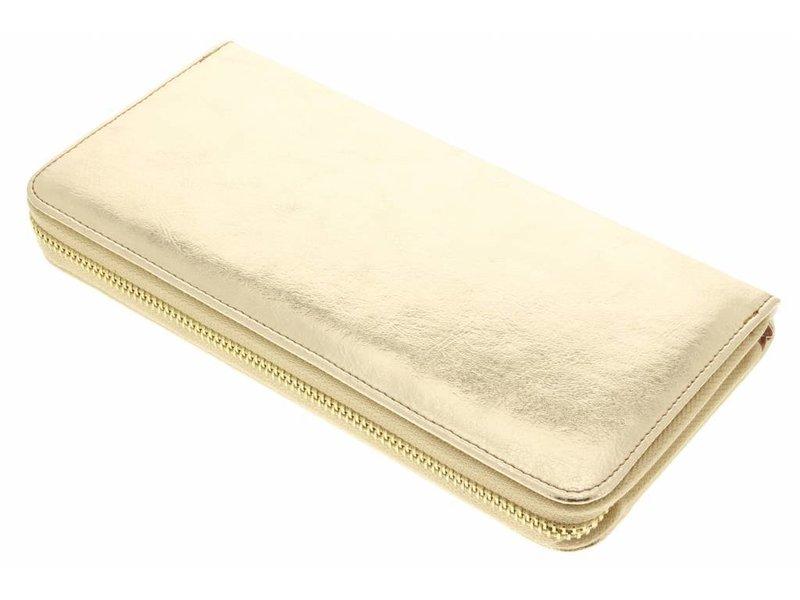 Gouden universele glamour design portemonnee hoes