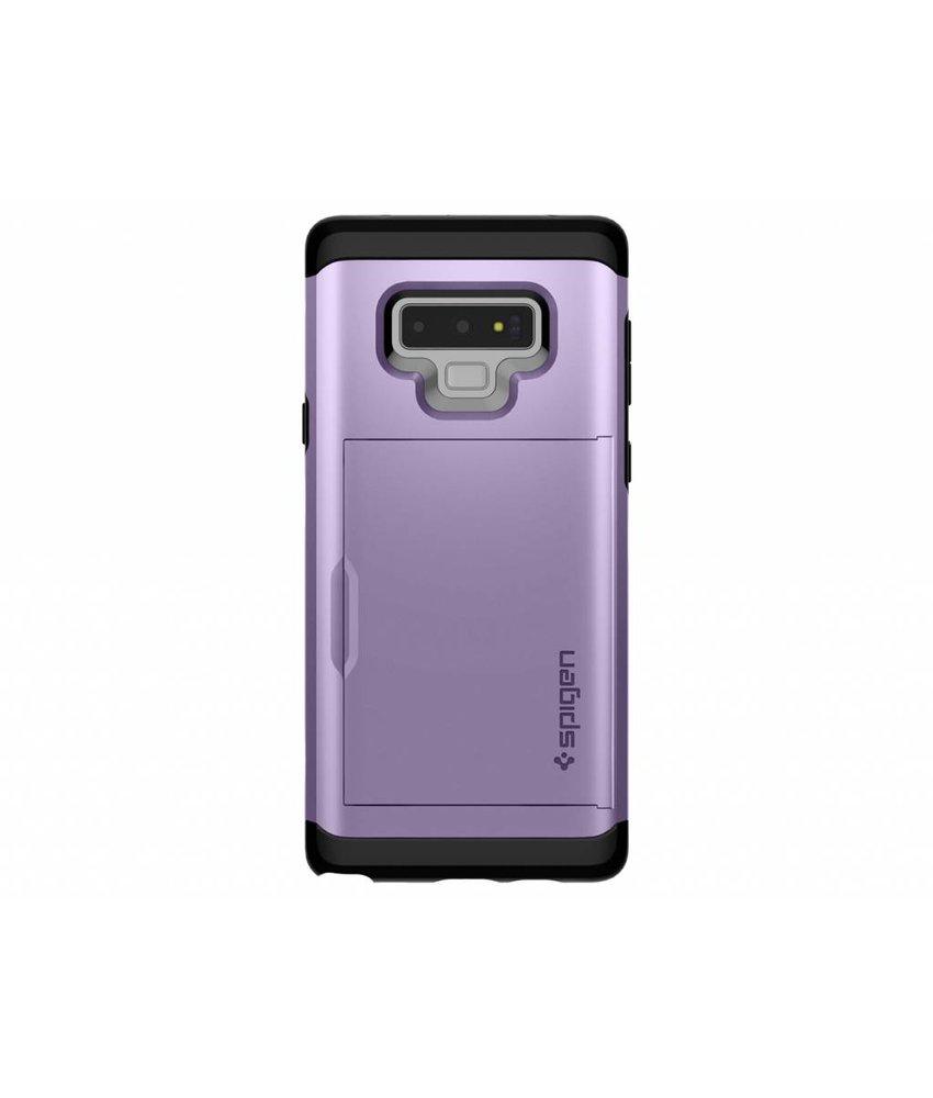 Spigen Paars Slim Armor™ CS Case Samsung Galaxy Note 9