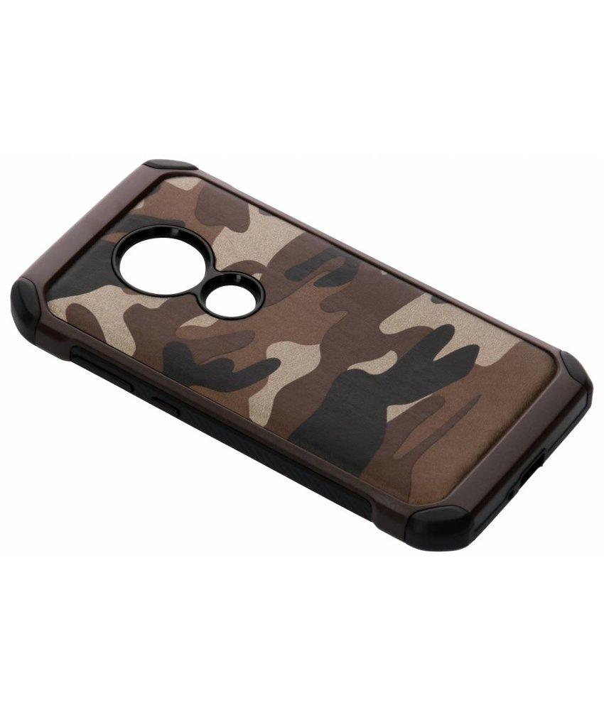 Bruin army defender hardcase hoesje Moto E5 / Moto G6 Play