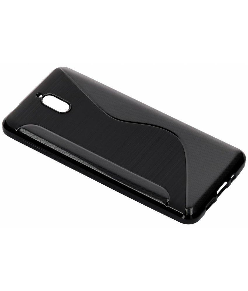 Zwart S-line TPU hoesje Nokia 3.1