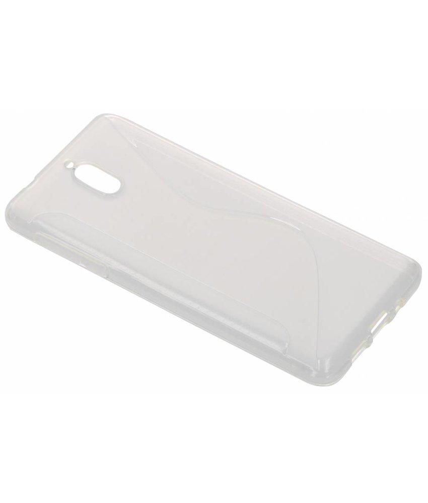 Transparant S-line TPU hoesje Nokia 3.1