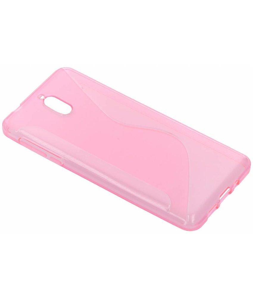 Roze S-line TPU hoesje Nokia 3 (2018)
