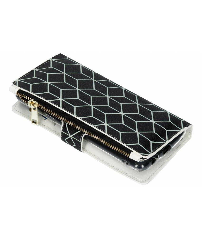 Design Luxe Portemonnee Samsung Galaxy A6 Plus (2018)