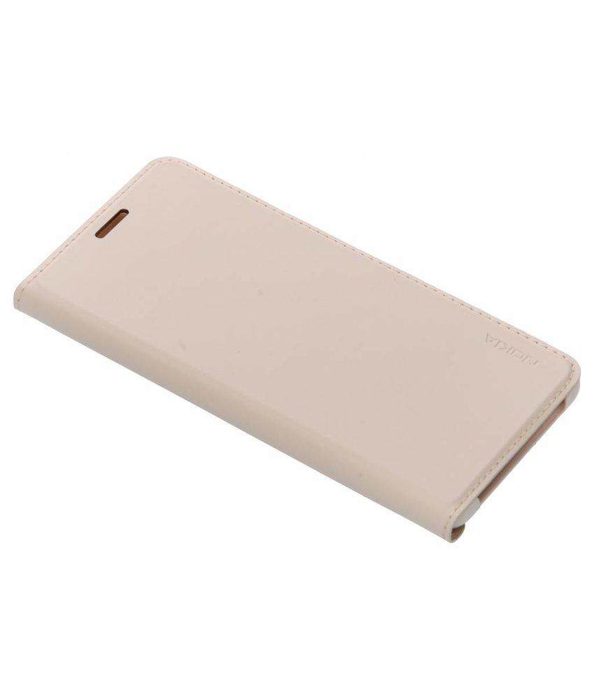 Nokia Beige Slim Flip Cover Nokia 3.1