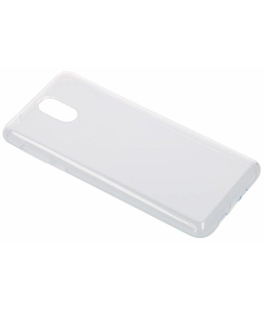 Nokia Premium Clear Backcover Nokia 3.1