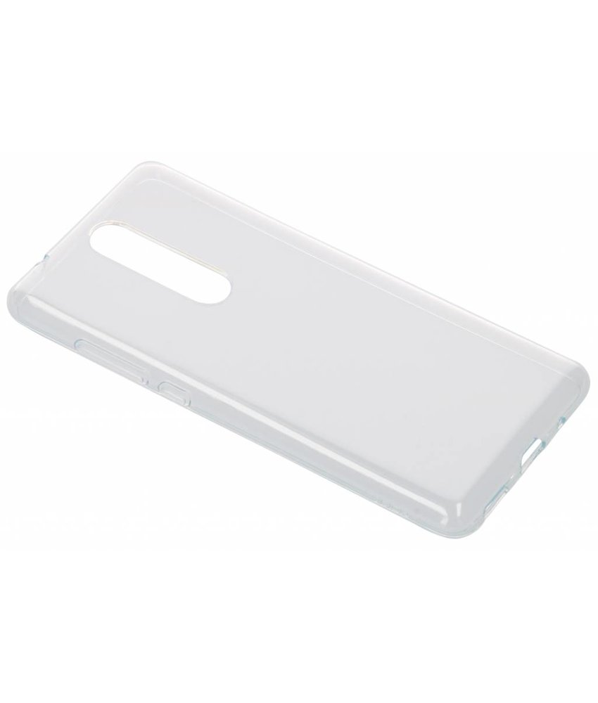 Nokia Transparant Premium Clear Case Nokia 5.1