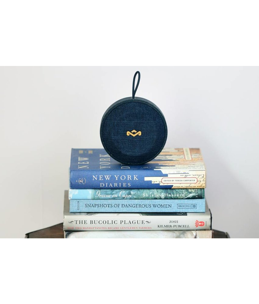House of Marley Blauw No Bounds Bluetooth Speaker