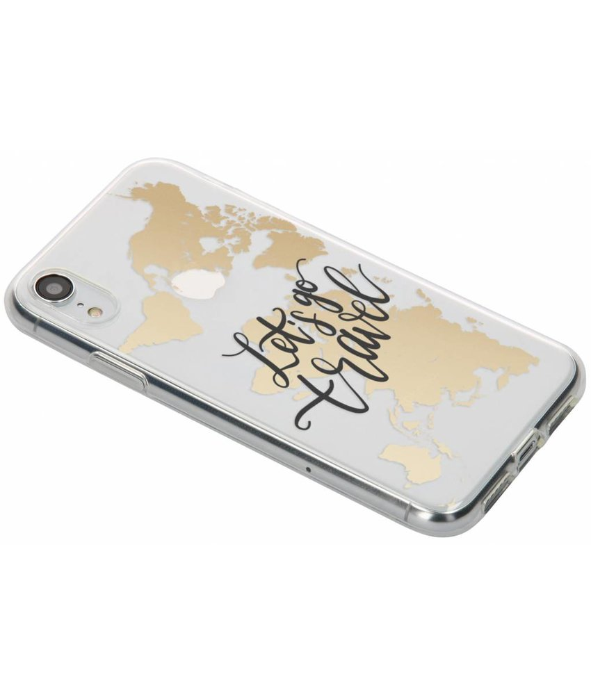 Quote design TPU hoesje iPhone Xr